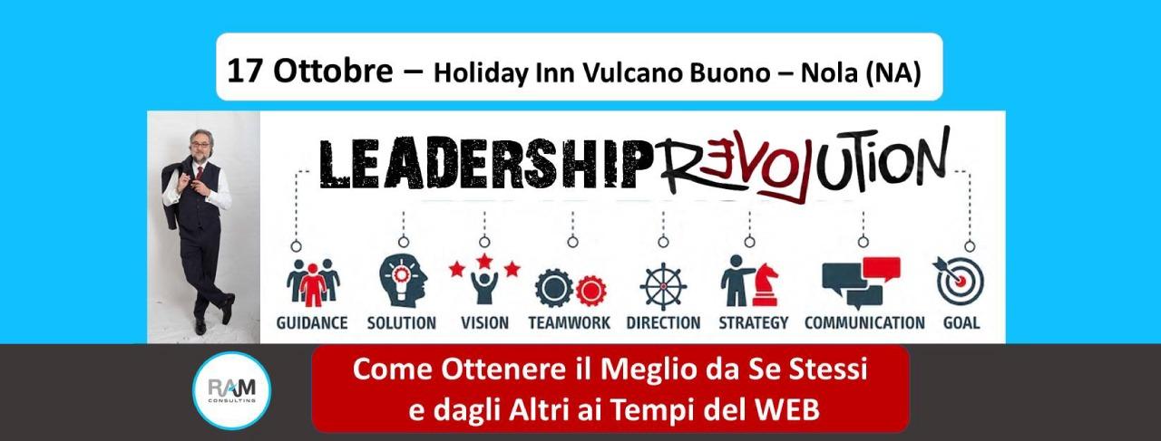 Ultimi posti per il corso Leadership Revolution