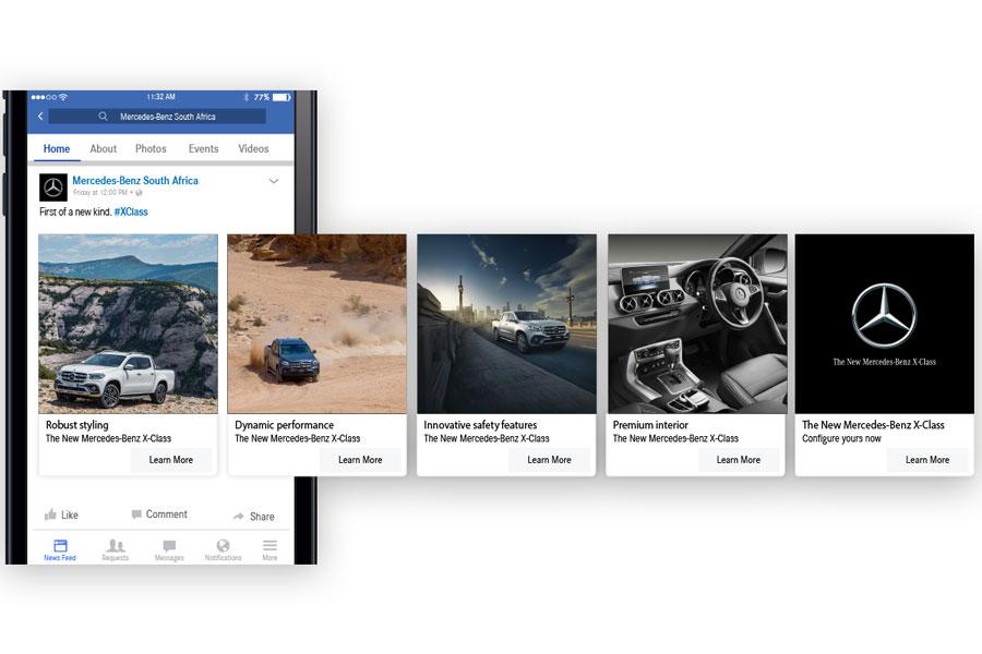 "Facebook Ads:""carosello"" cos'è e perché usarlo?"