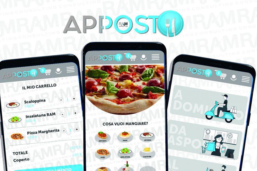Benvenuta Apposto, la nuova web app le attività di ristorazione!