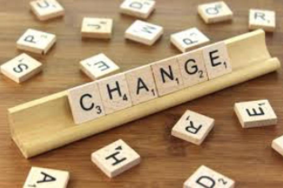 La RIVOLUZIONE DEL CAMBIAMENTO: il Cambiamento come Opportunità