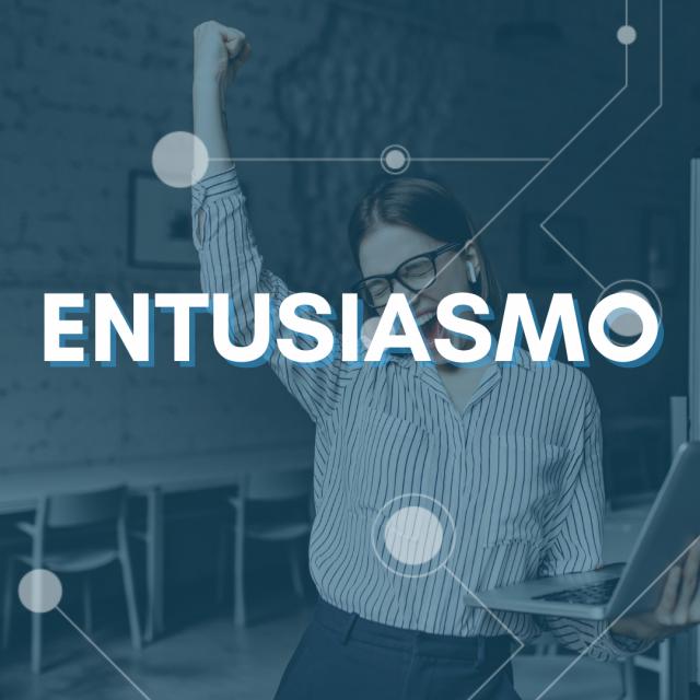 colloquio di lavoro in azienda - entusiasmo